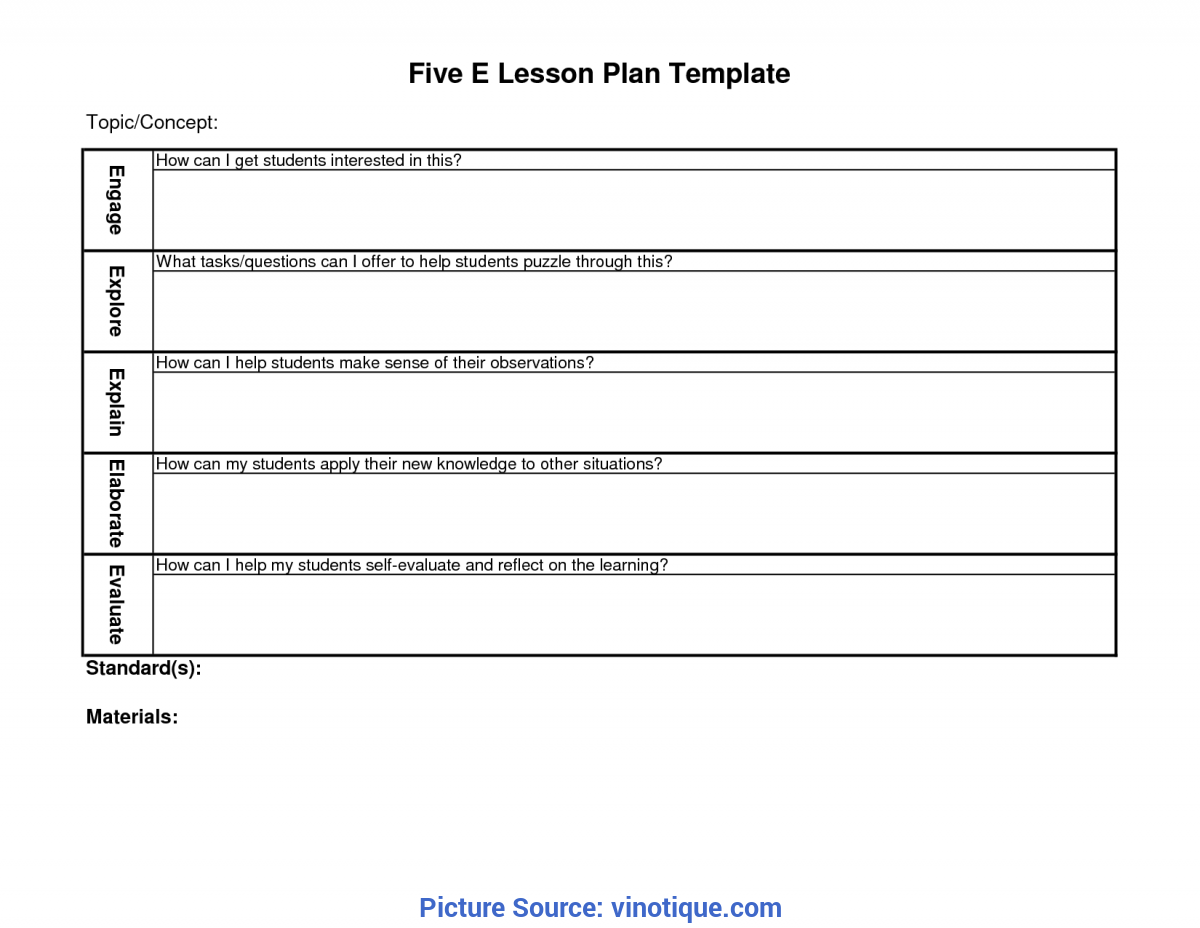 the 5e lesson plan is an extremely useful way of planning
