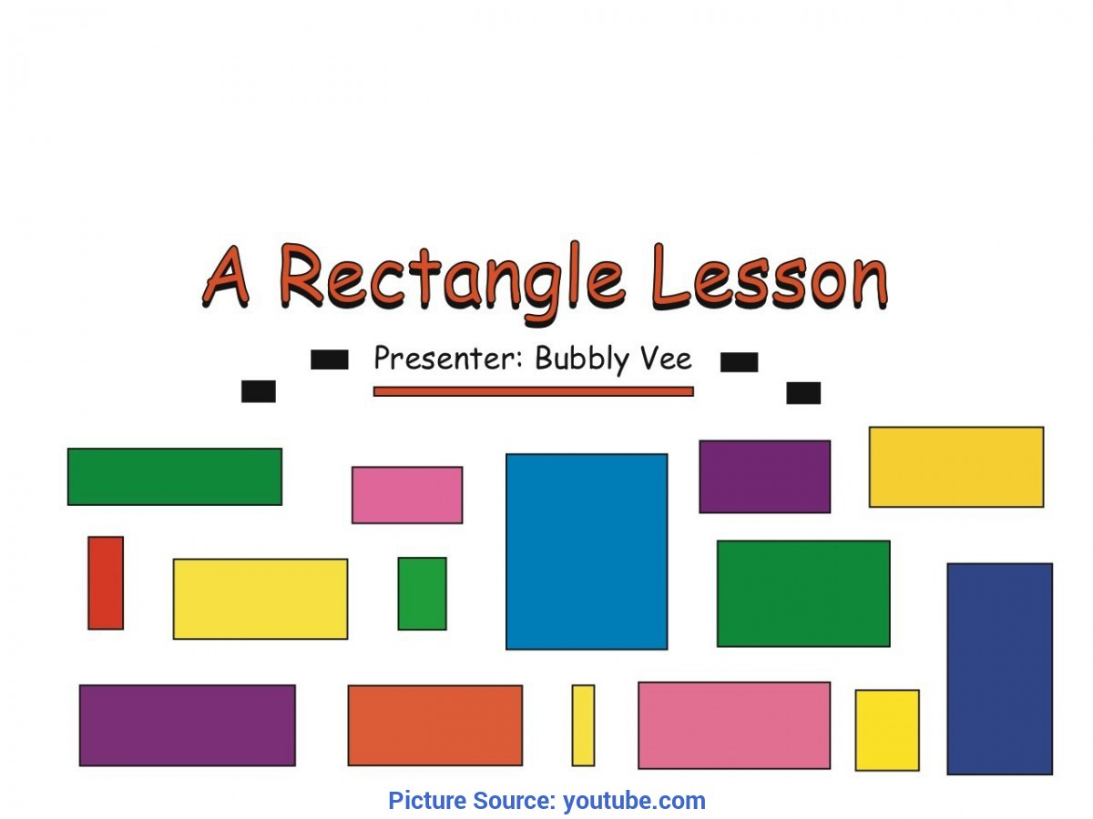 Best Rectangle Lesson Plans For Toddlers Shape Lesson - Rectangle Lesson - Shape Activity - You