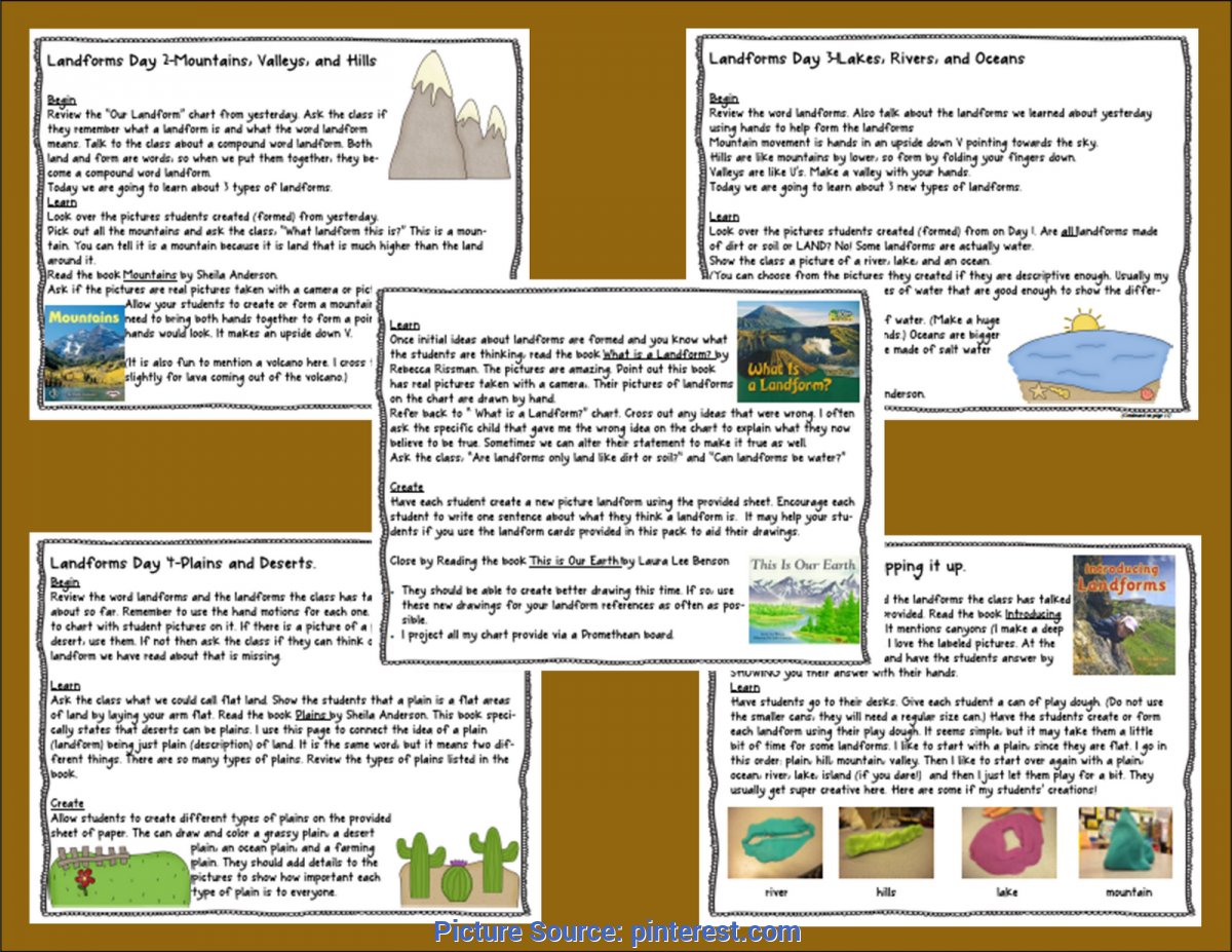 Best Science Lessons For 3Rd Grade Foldables For Science   If You Need To Spice Up Your Landform Uni