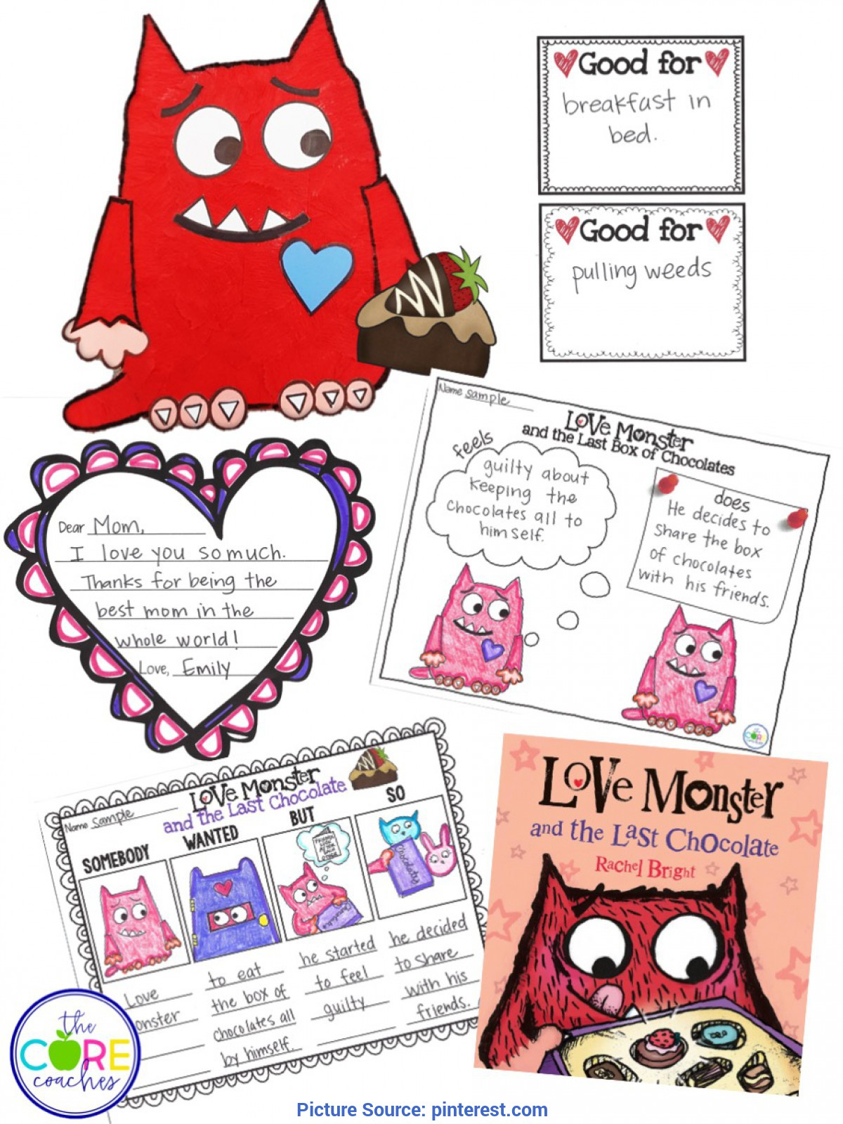 Best Splash Into Pre-K Lesson Plans Love Monster And The Last Chocolate Lesson Plans And Activitie