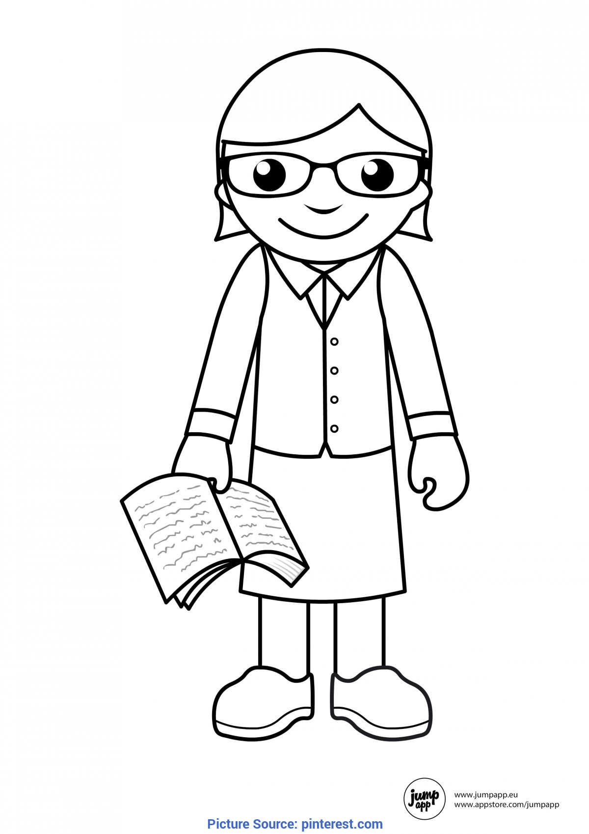 Printable Community Helper Coloring Pages For Kids | Co ...