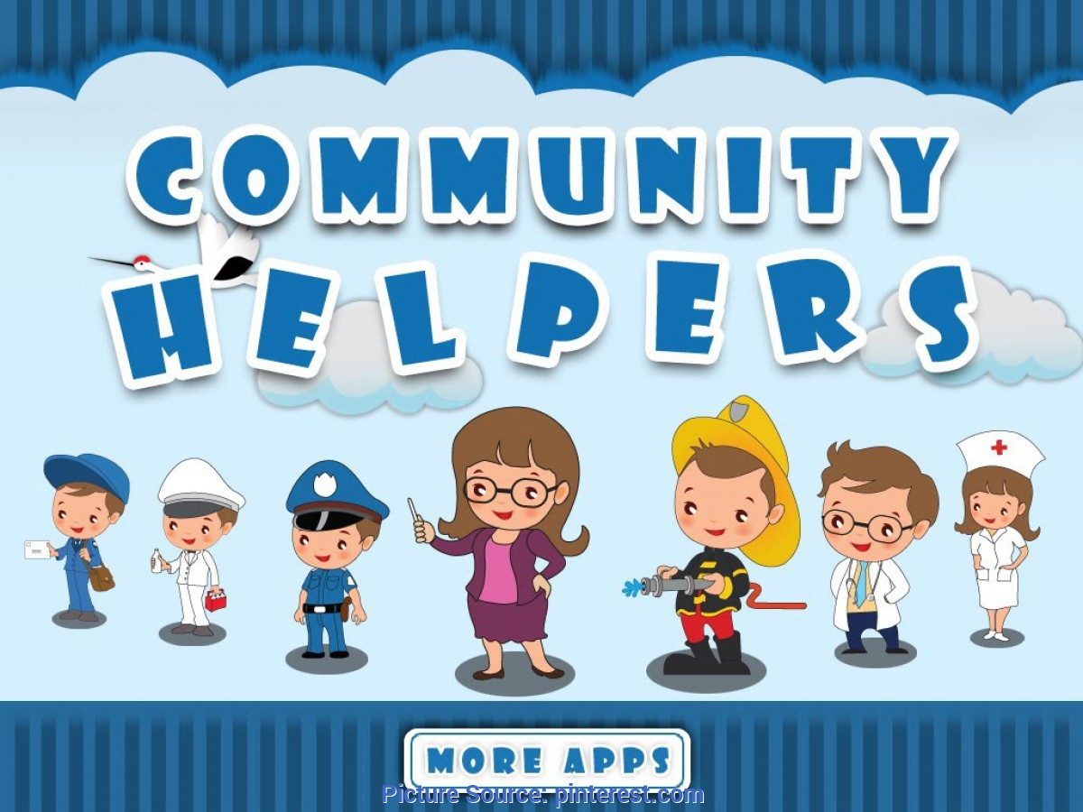 Briliant Pictures Of Our Community Helpers Community Helpers By Tinytapps L Community Helpers Activities Fo
