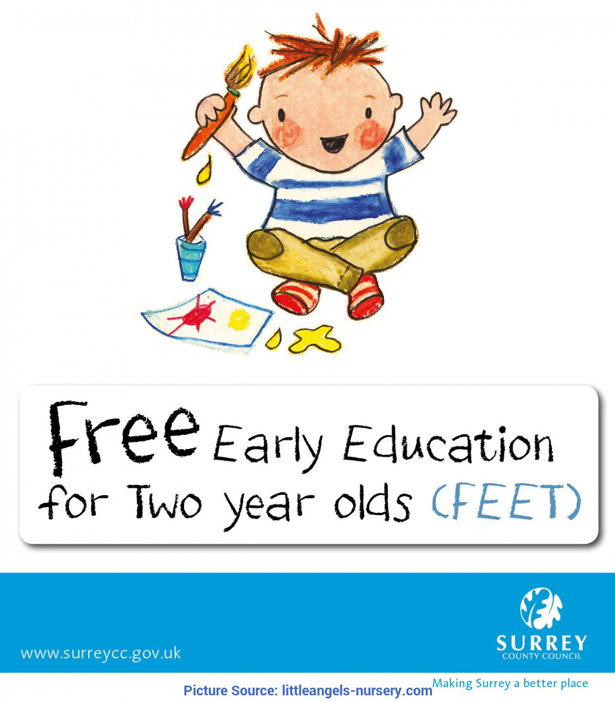 Complex Education For 2 Year Olds Feet (Free Education For 2 Year Olds) | Little Angels Nur
