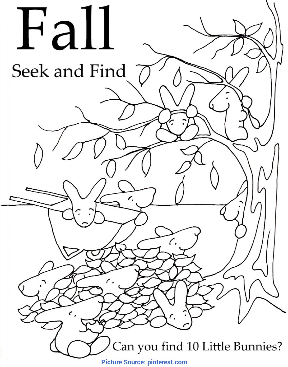 Complex First Day Of Fall Activities For Preschool Seek And Finds | Free Printables, School And Free Presc