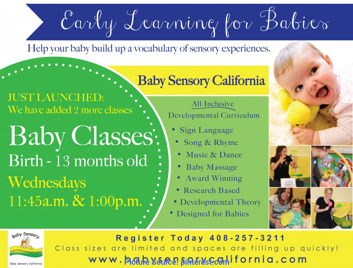 Excellent Baby Class Curriculum Baby Sensory Baby Classes For Babies 0-13 Months Old Baby Sig