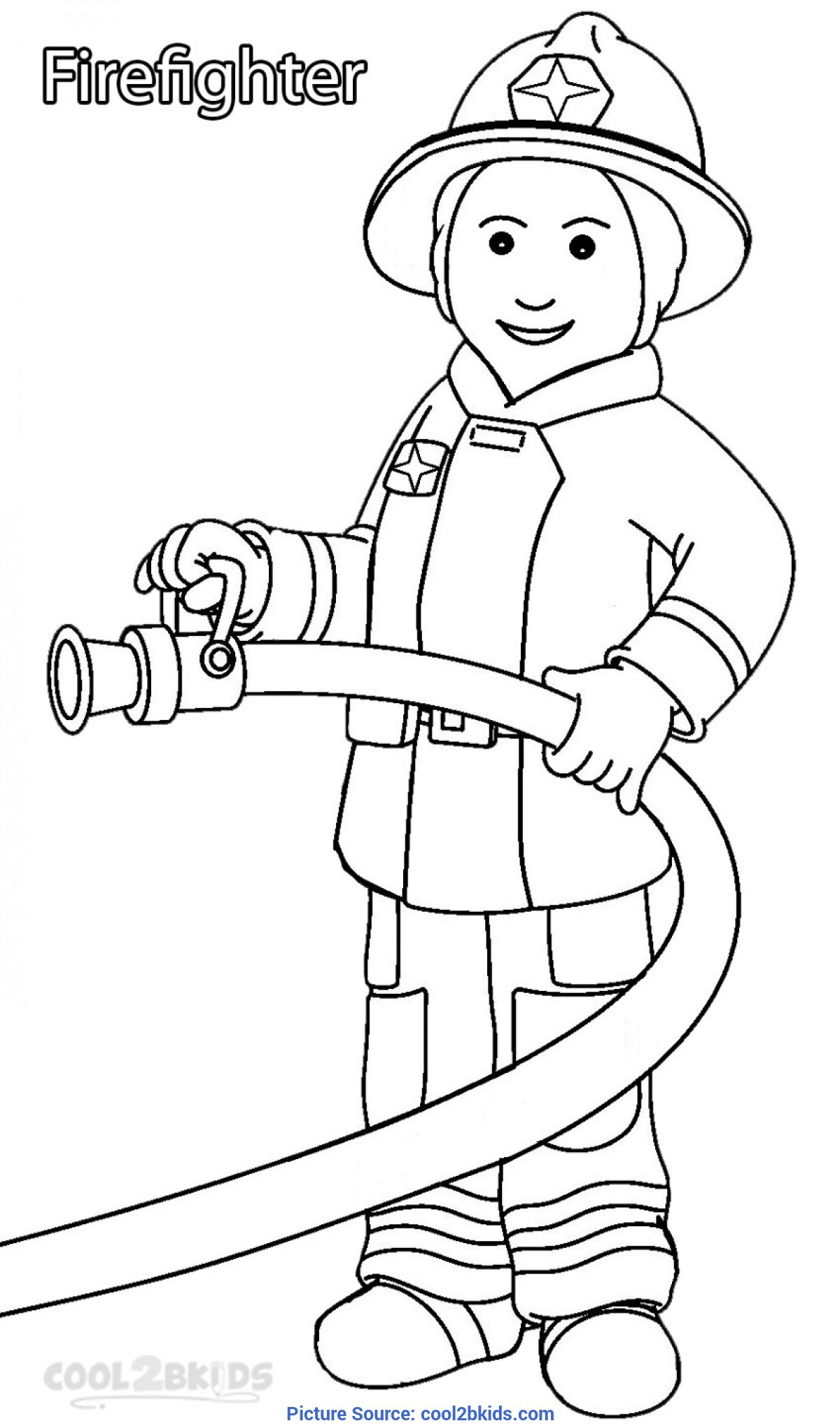 Excellent Community Helpers Coloring Printable Community Helper Coloring Pages For Kids | Cool2B