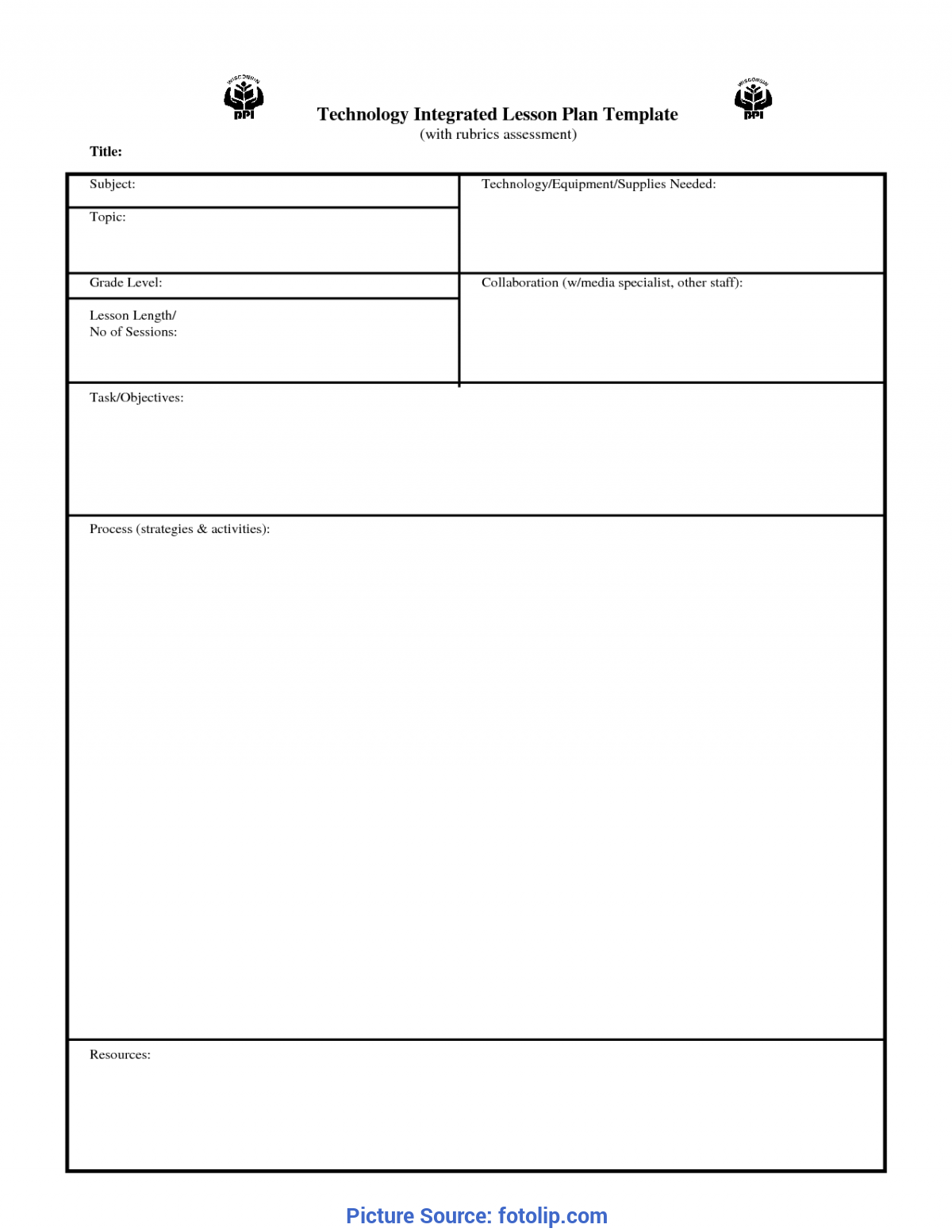 Excellent Lesson Plan Template Daily Daily Lesson Plan Template | Fotolip.Com Rich Image And Wallp