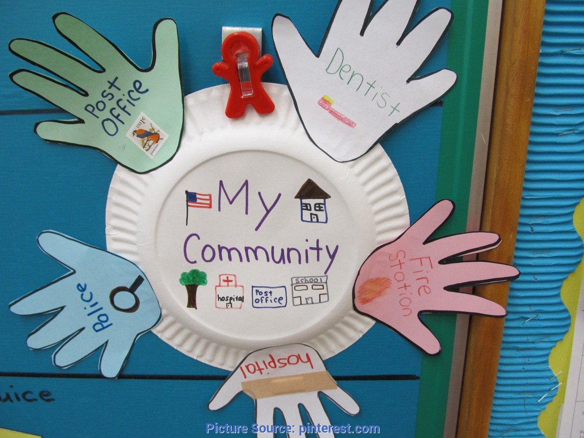 Excellent My Community Lesson Plans For Preschool My Community Helpers Wreath -Repinned By Totetude.Com | Socia