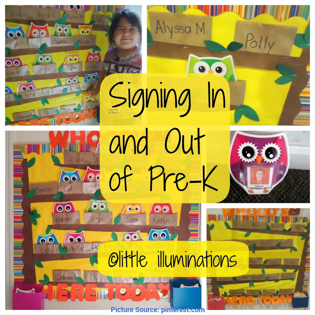 Excellent Pre K Classroom Themes Little Illuminations Signing In And Out In Pre K 2014 P Ota Tech