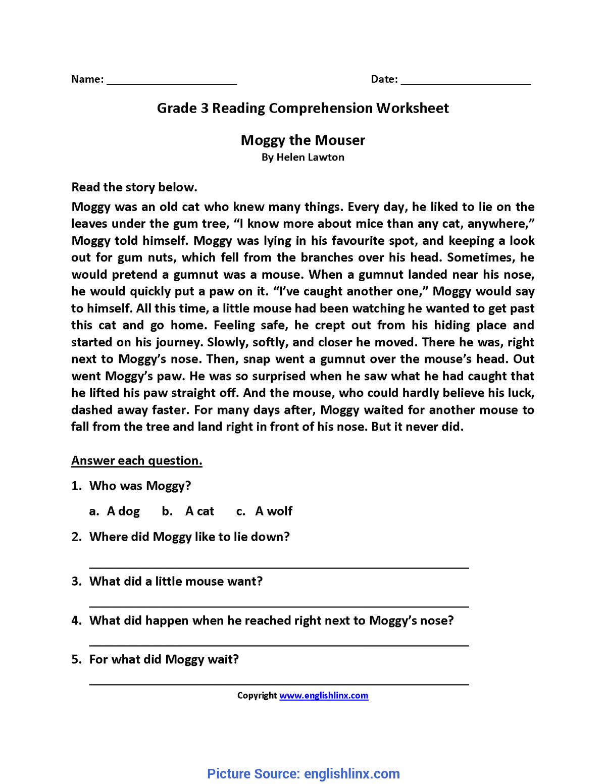 - Excellent Reading Lessons For 3Rd Grade Reading Worksheets Third
