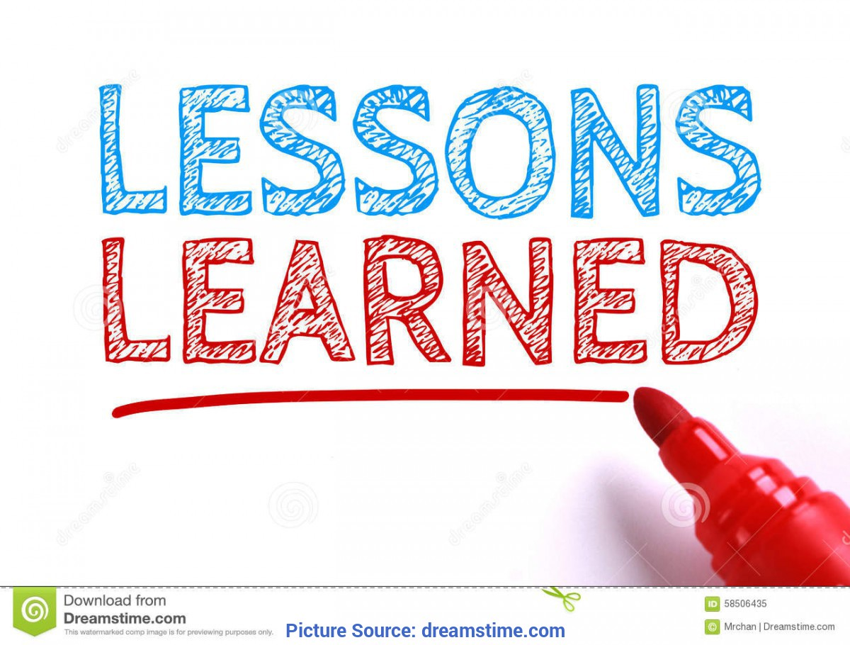 Excellent What Is Lessons Learned Lessons Learned Stock Image. Image Of Note, Educate, Evaluatio