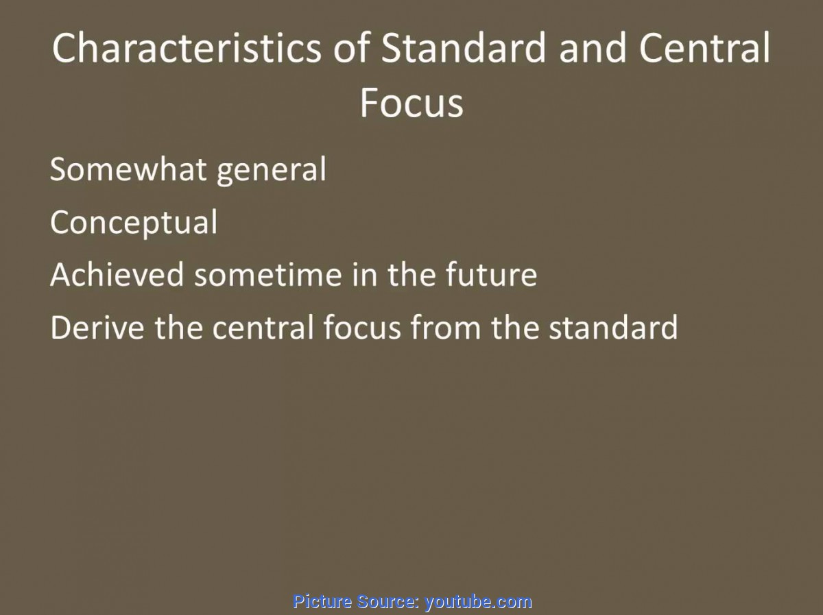 Fresh Central Focus Lesson Plan Examples Standard, Central Focus, And Learning Target For Edtpa - You