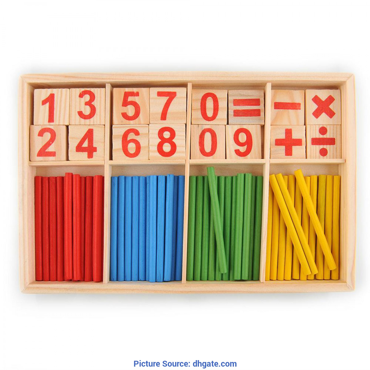 Fresh Counting Materials For Preschool 2017 Wholesale High Quality Preschool Spindles Wooden Montessor