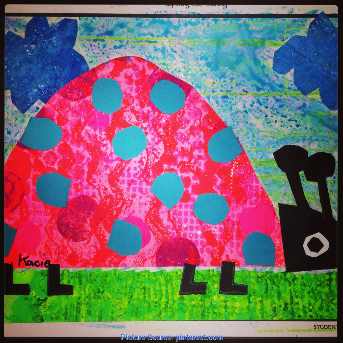 Fresh Elementary Art Lesson Plans Spring First Grade Collage Art. Printmake Paper On Day 1. Textur