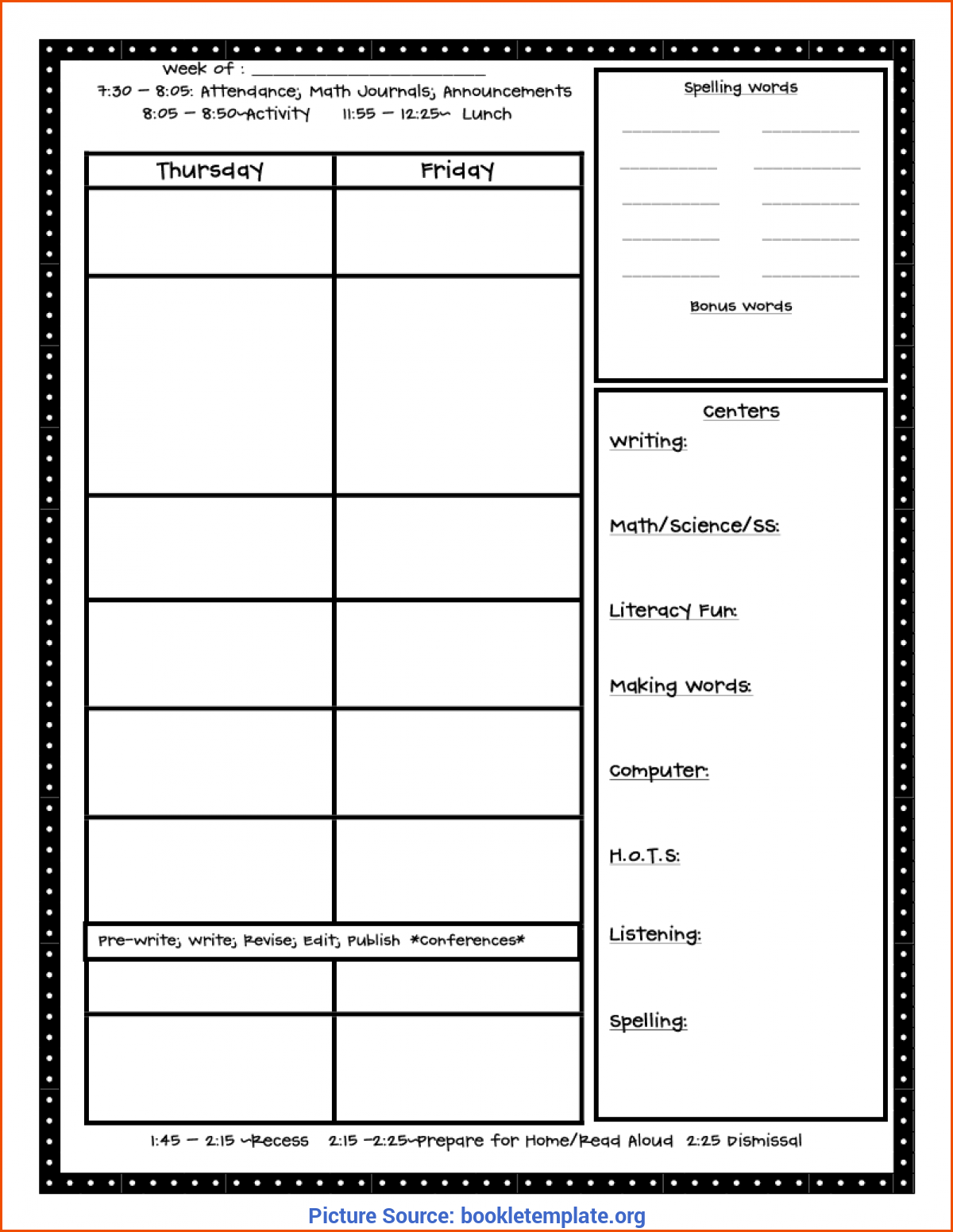 Good Best Online Lesson Planner 6+ Free Lesson Plan Template - Bookletemplate