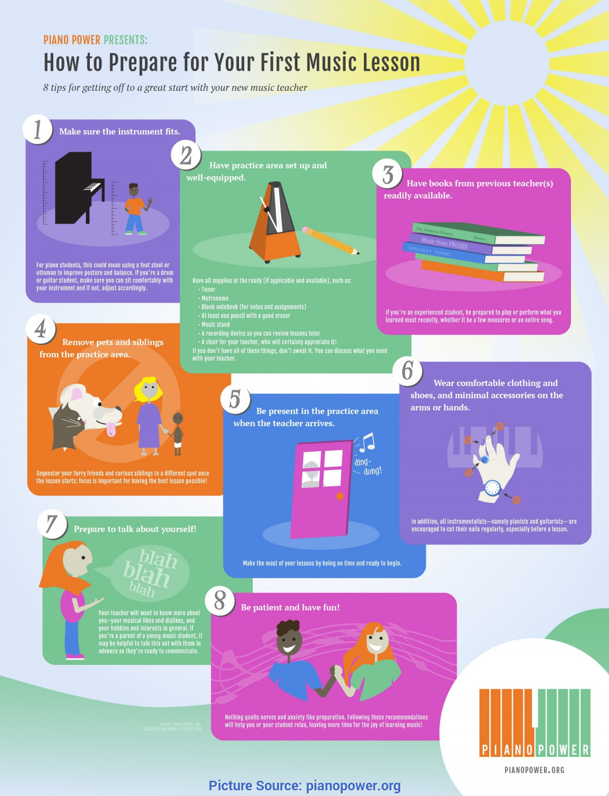 Good How To Prepare A Lesson Your First Music Lesson - Infogra