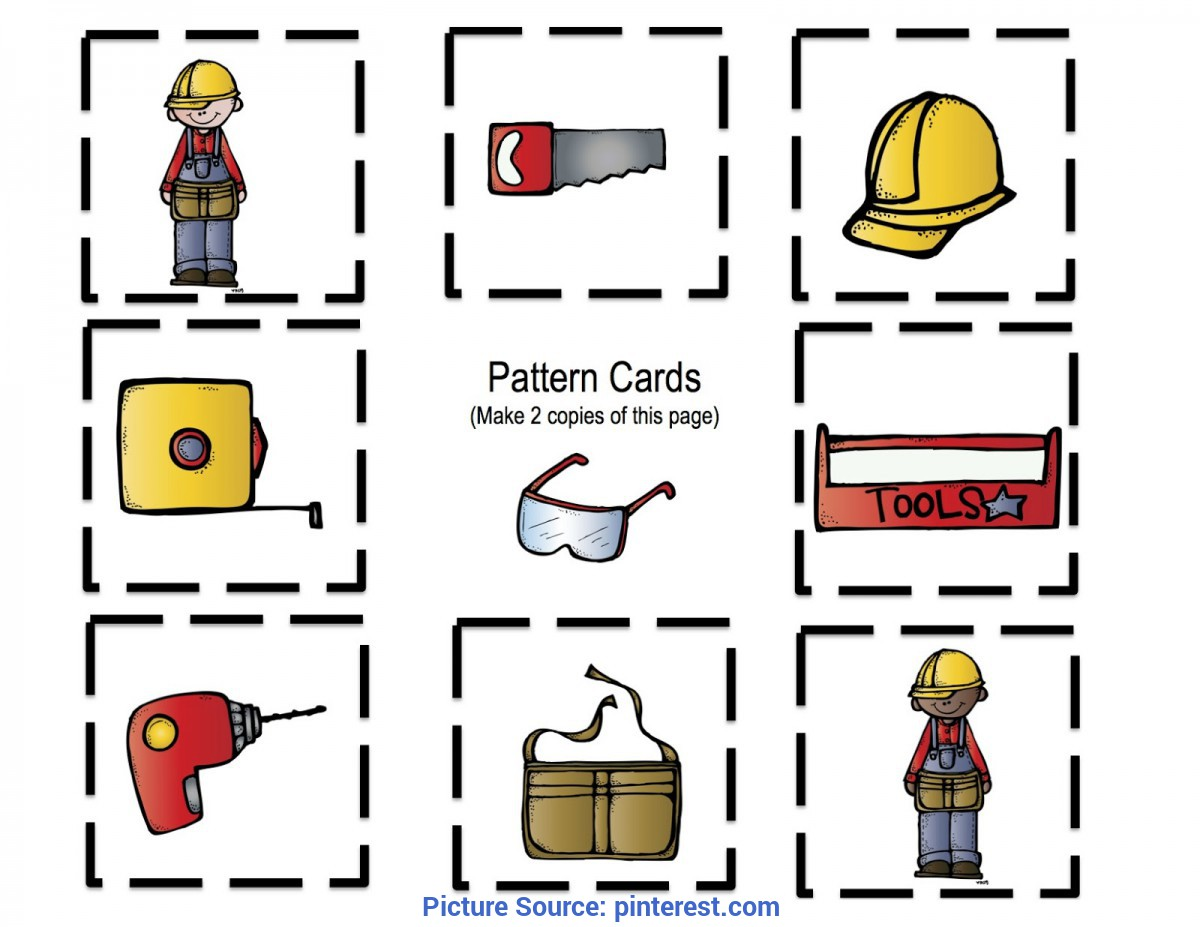 Good Images Of Community Helpers And Their Tools Preschool Printables: All About Tools Printable | Hudson'S 1S