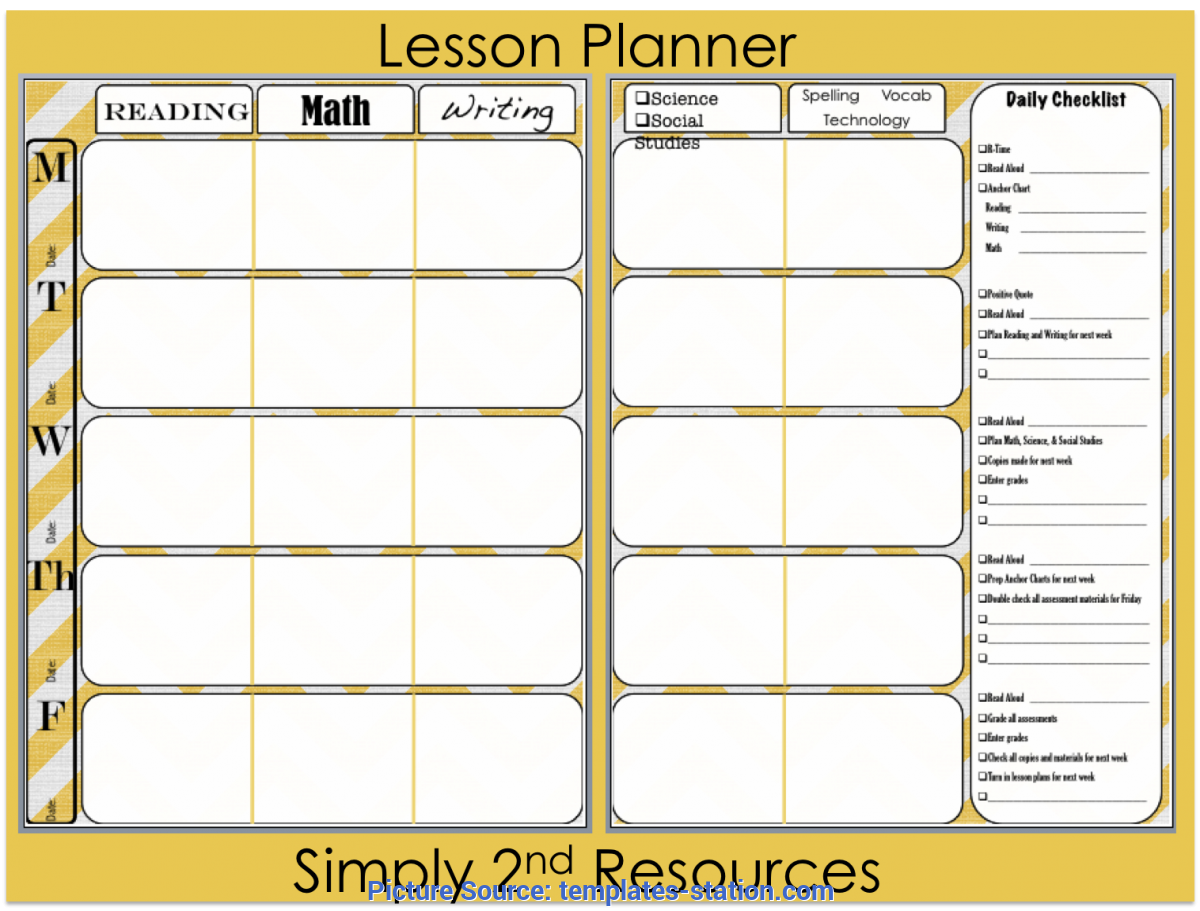photograph about Teacher Plan Book Printable identified as Favourable Lesson Software E-book Template Printable Lesson Software E book