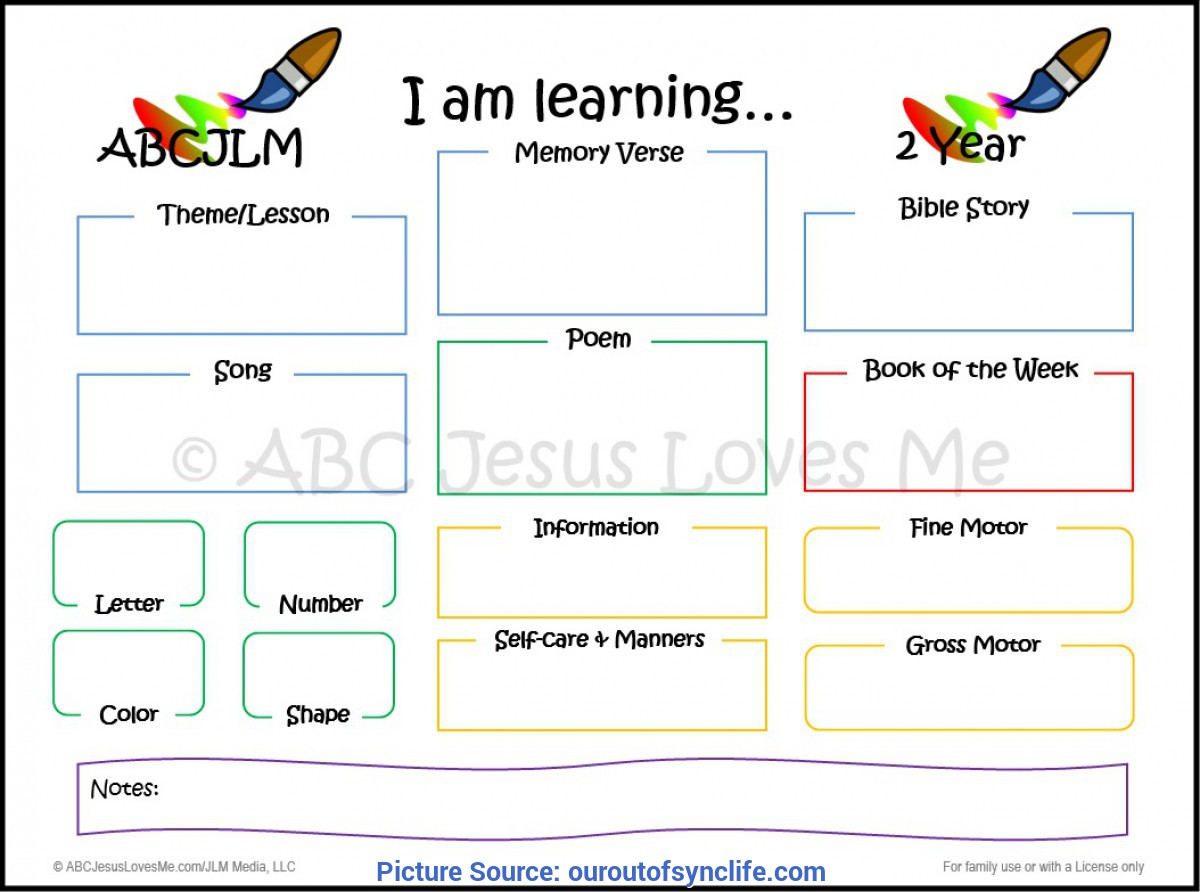 Good Lesson Plans For 1 And 2 Year Olds Making Learning Part Of The Day - Our Out-Of-Sync