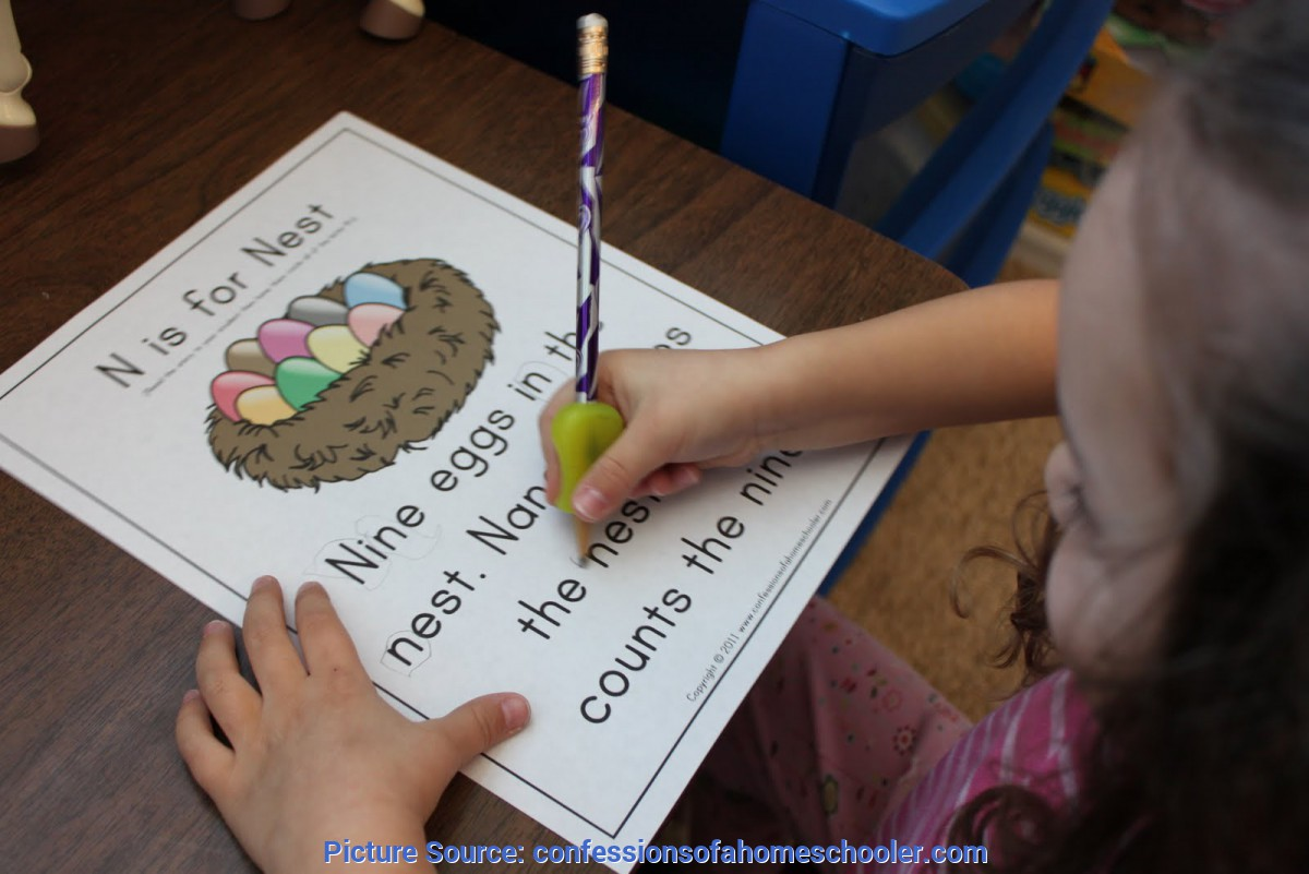 Good Pre K Lesson Plans For Letter N Prek Letter N - Confessions Of A Homescho