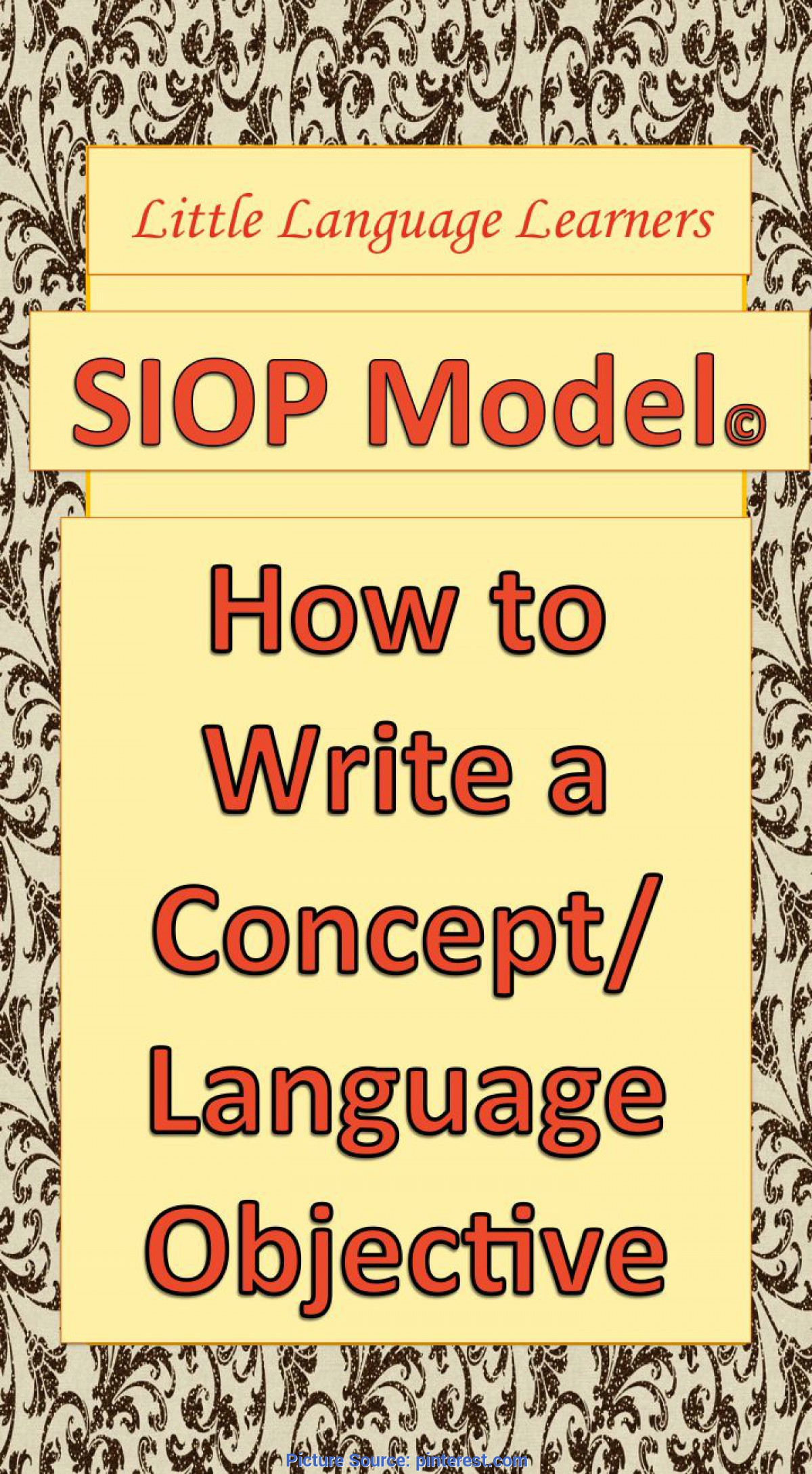 Good Siop Features Checklist 19 Best Images About Sheltered Instruction On Pinterest   Englis