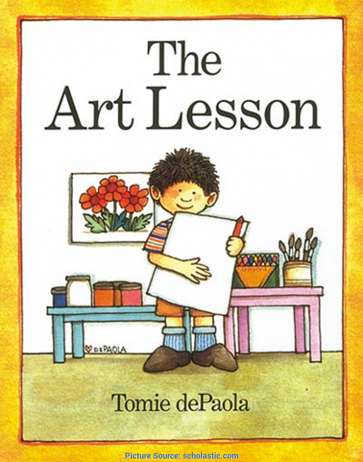Good The Art Lesson The Art Lesson By Tomie Depaola | Schola