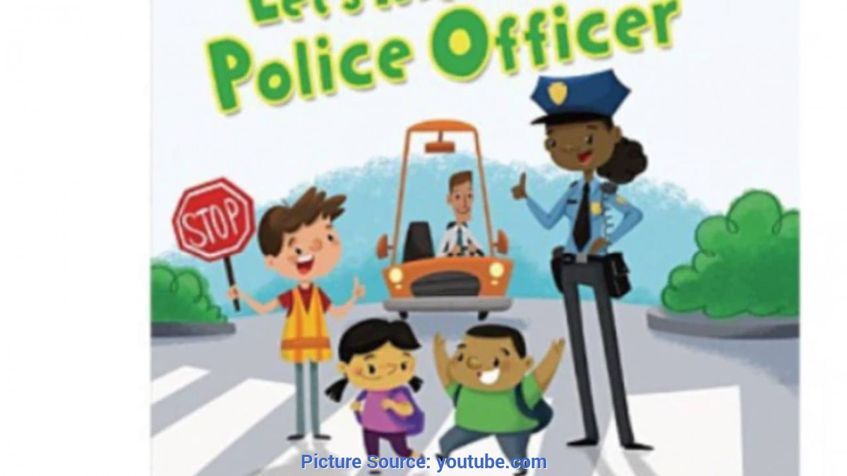 Great Community Helpers Police Officer Let'S Meet A Police Officer (Book) - You