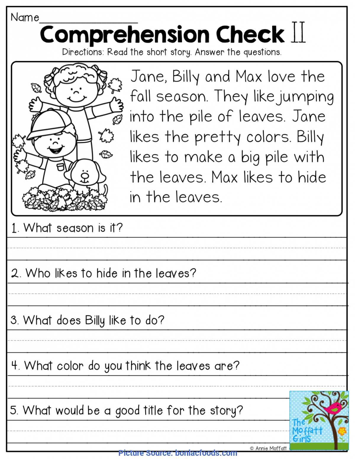 - Worksheets. Free Printable First Grade Reading Comprehe - Ota Tech