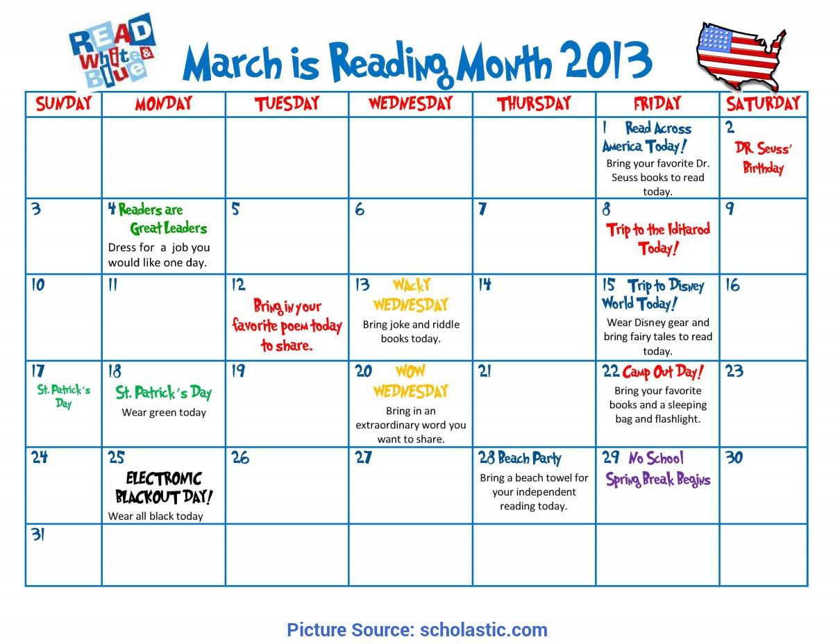 Great Preschool Monthly Theme Ideas Celebrate The Joy Of Reading All Month Long | Schola