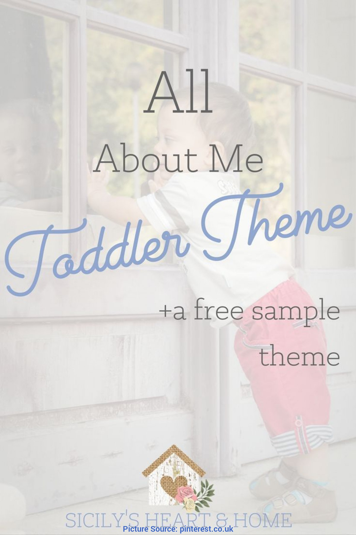 Interesting Free Toddler Lesson Plans Themes All About Me Toddler Theme | Tot School, Activities And Sc