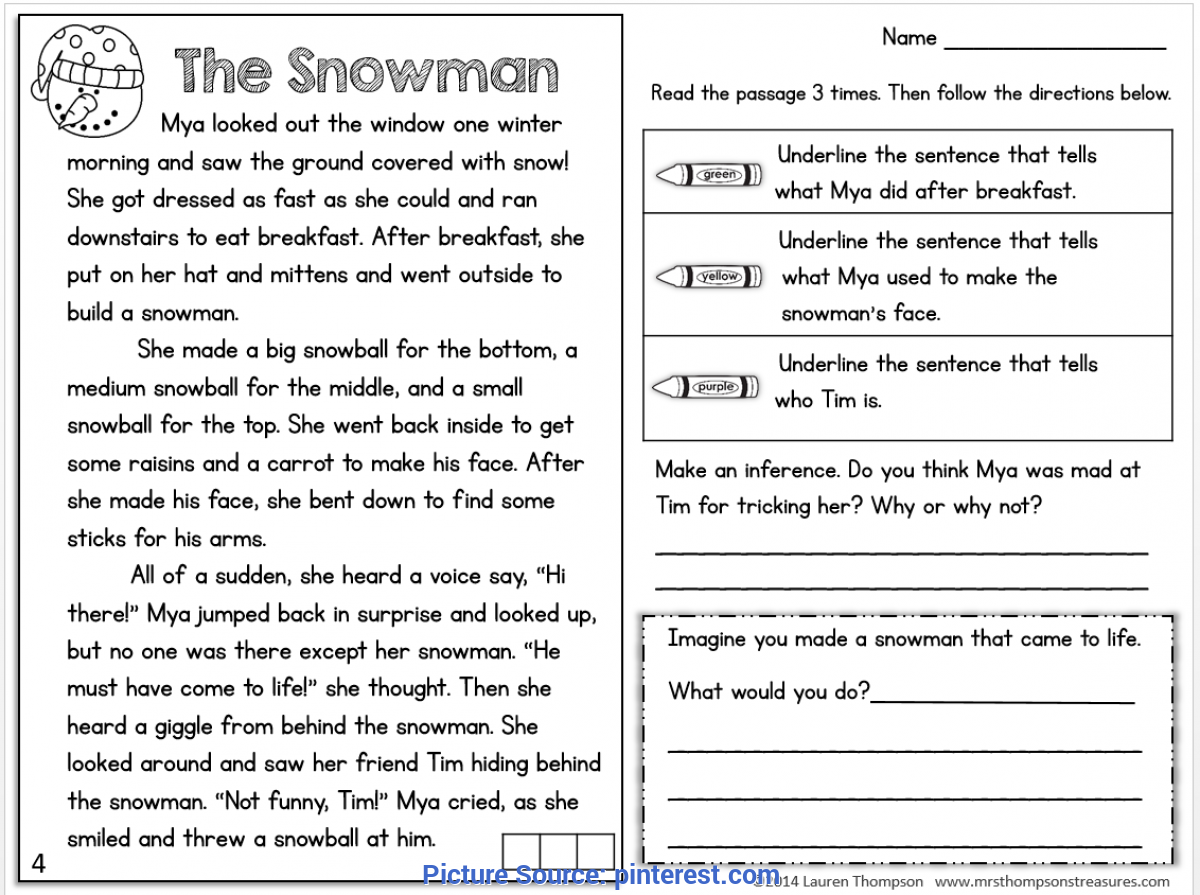 - FREEBIE! Text Evidence Reading Comprehension Passage. #sn - Ota Tech