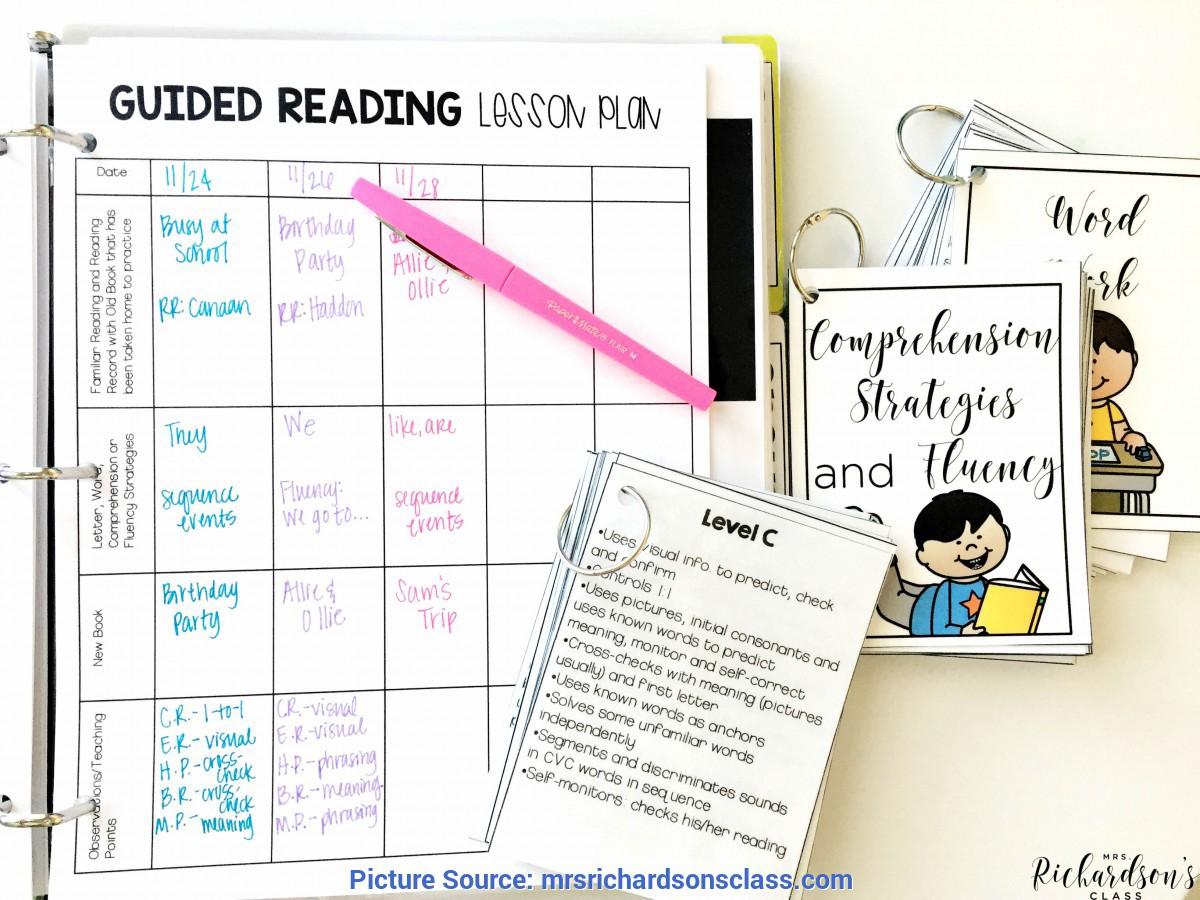 Interesting Jan Richardson Guided Reading Levels Identifying A Teaching Point During Guided Reading - Mr