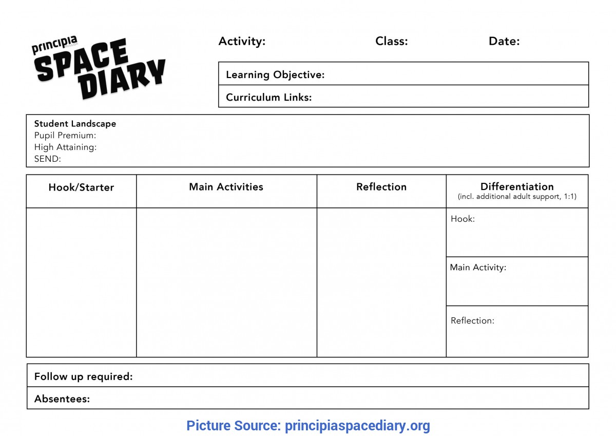 Interesting Teacher Lesson Plan Reflection Template Lesson Plan And Self-Evaluation Templates - Principia Space D