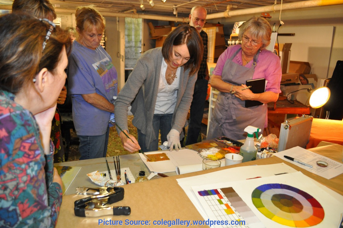 Interesting Teaching Art Classes Art Workshops €? Cole Gallery ~ An Artist'S Point Of