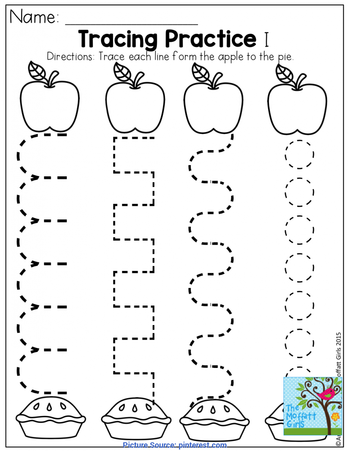 Newest Back To School Lesson Plans Preschool Tracing Practice And Tons Of Other Fun Pages For Back To Schoo