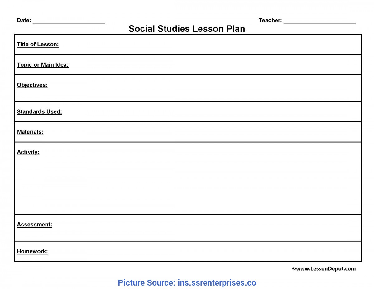 Newest Best Free Lesson Plan Templates Lesson Plans Templates - Ins.Ssrenterprise
