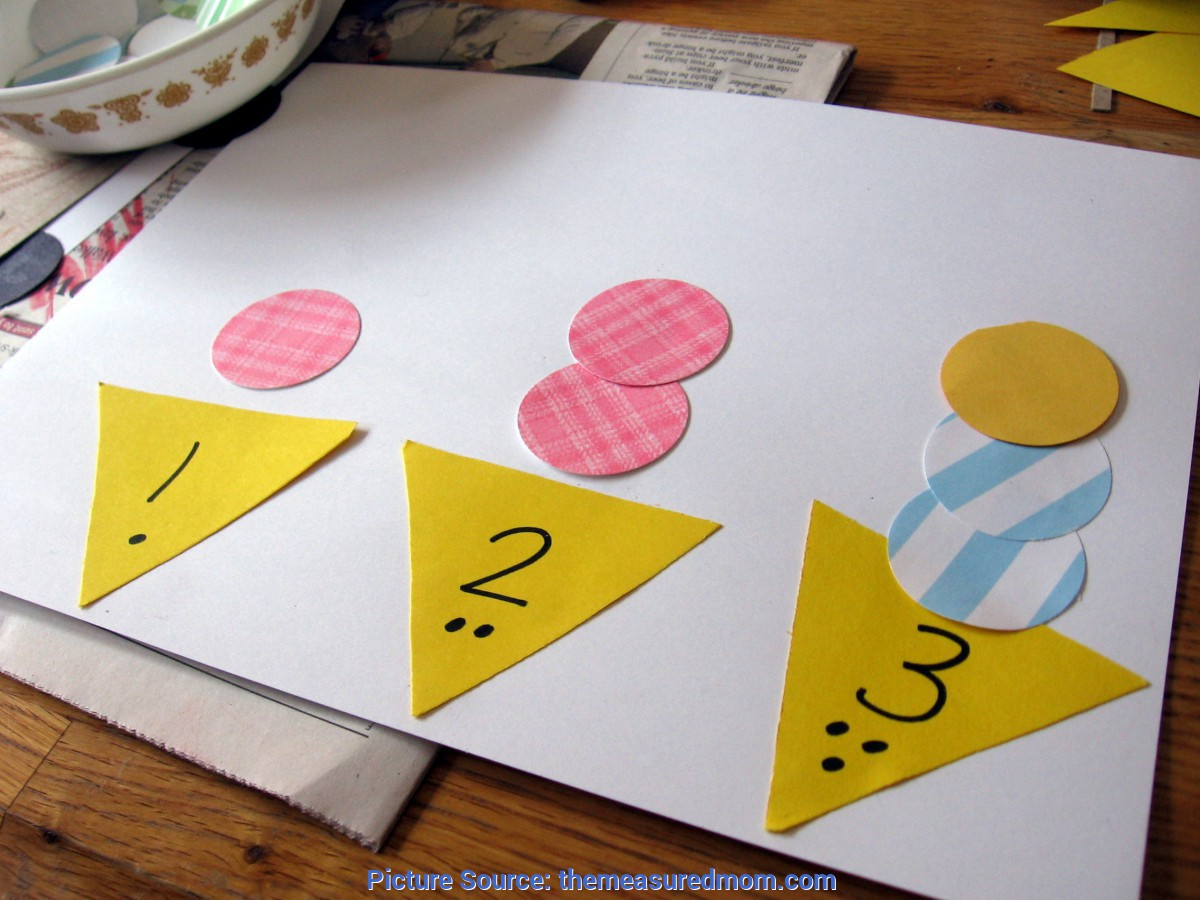 Newest Number Crafts For Preschoolers Hands-On Math For Preschool: The Letter