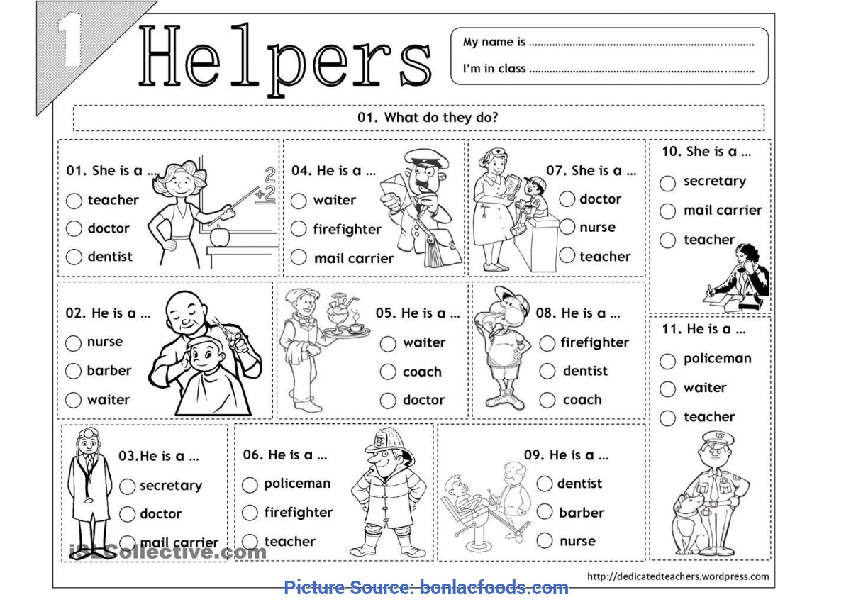 Good Images Of Community Helpers And Their Tools Preschool ...