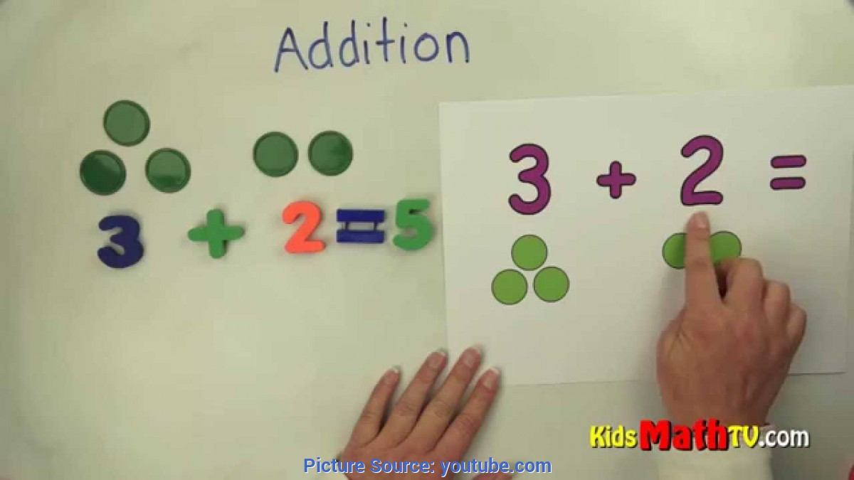 Newest Teaching Aids For Grade 1 Teach Kids Basic Addition With The Aid Of Chips And Pictures - 1S