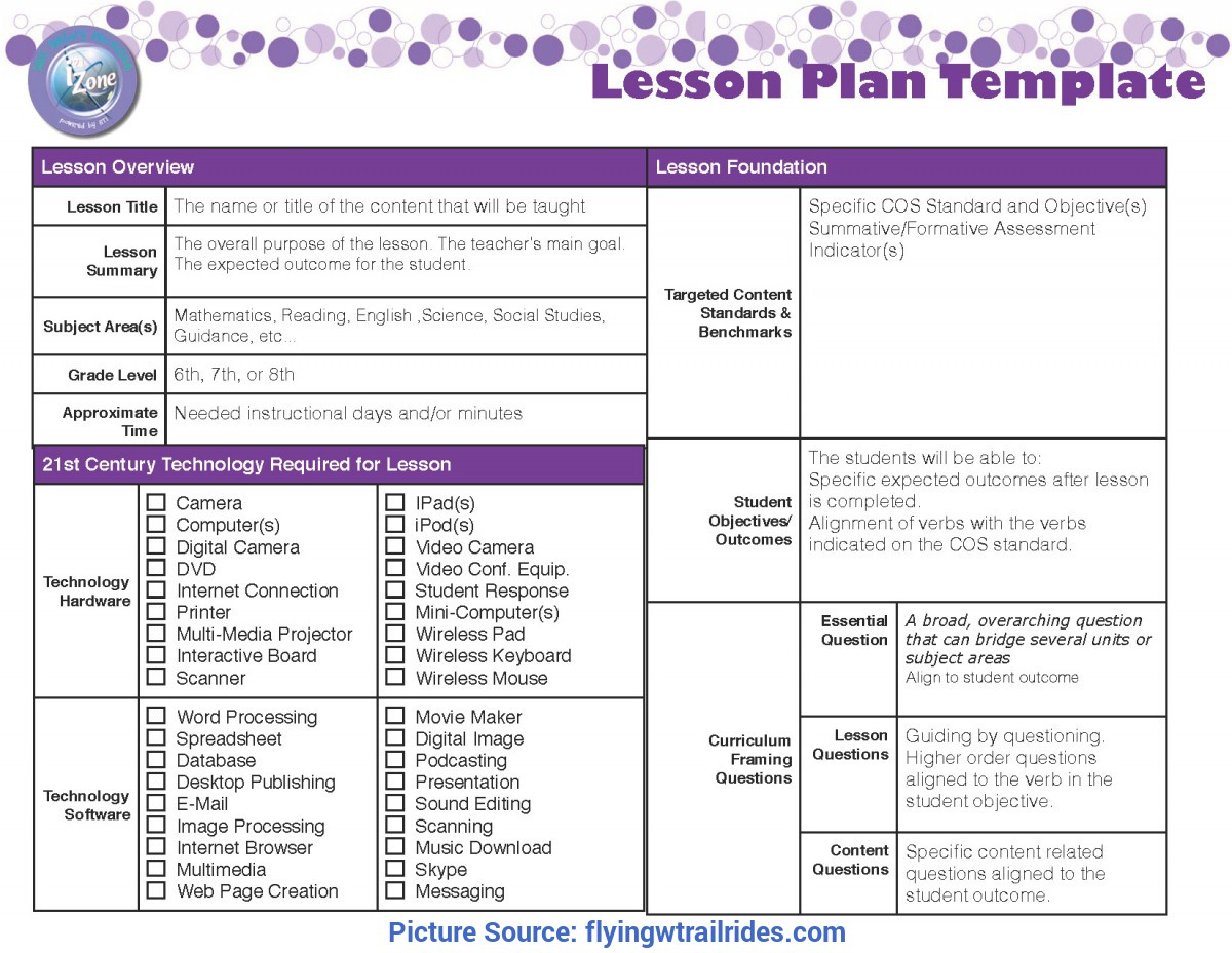 Simple 2 Page Weekly Lesson Plan Template Sharing My Long Range