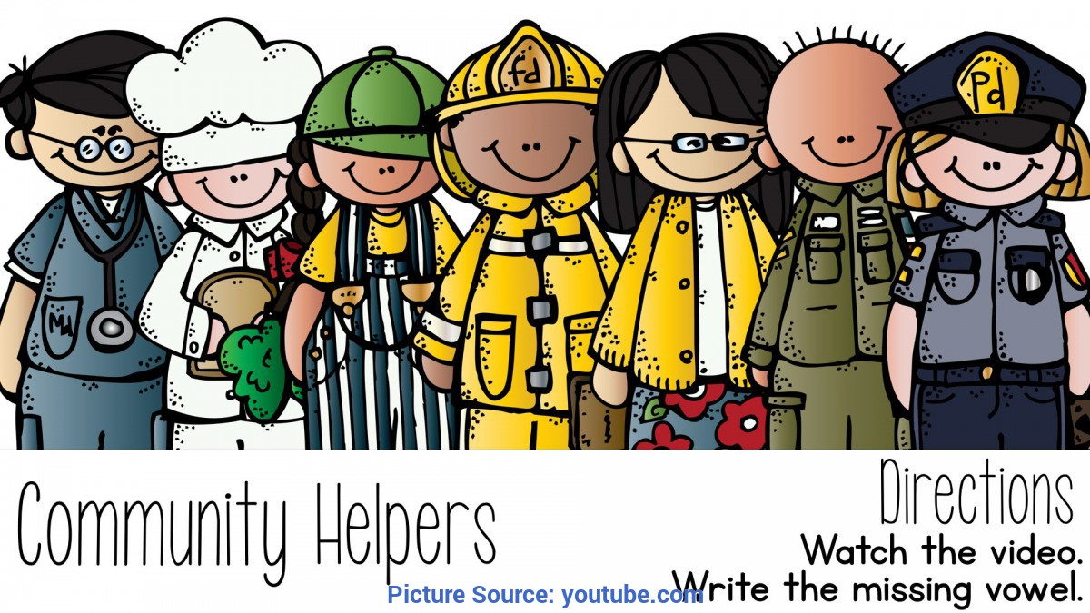 Regular Community Workers For Kids Community Helpers - You