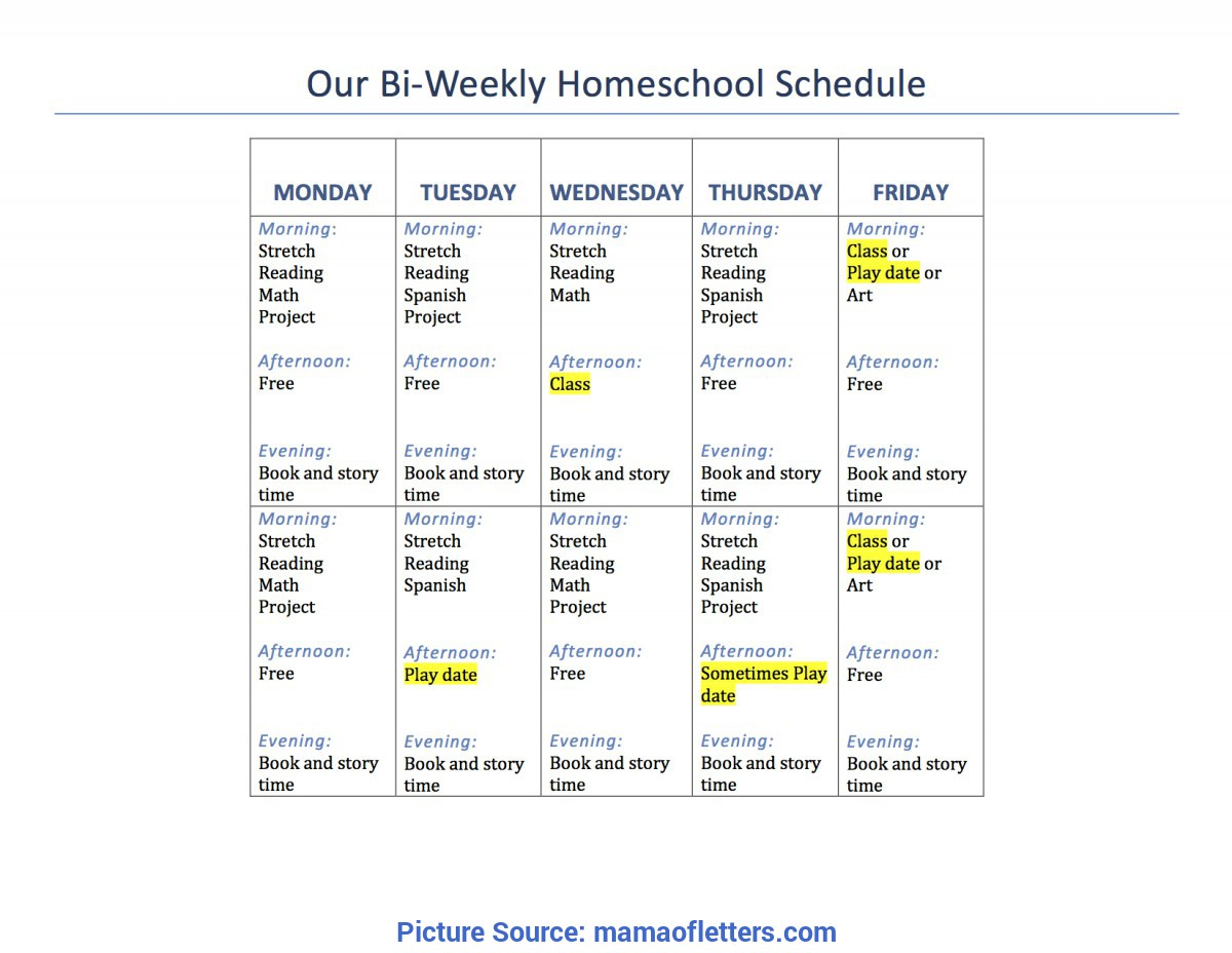 Regular First Grade Lesson Plans For Homeschool Our 1St Grade Homeschool Schedule And Curriculum | Mama Of Let