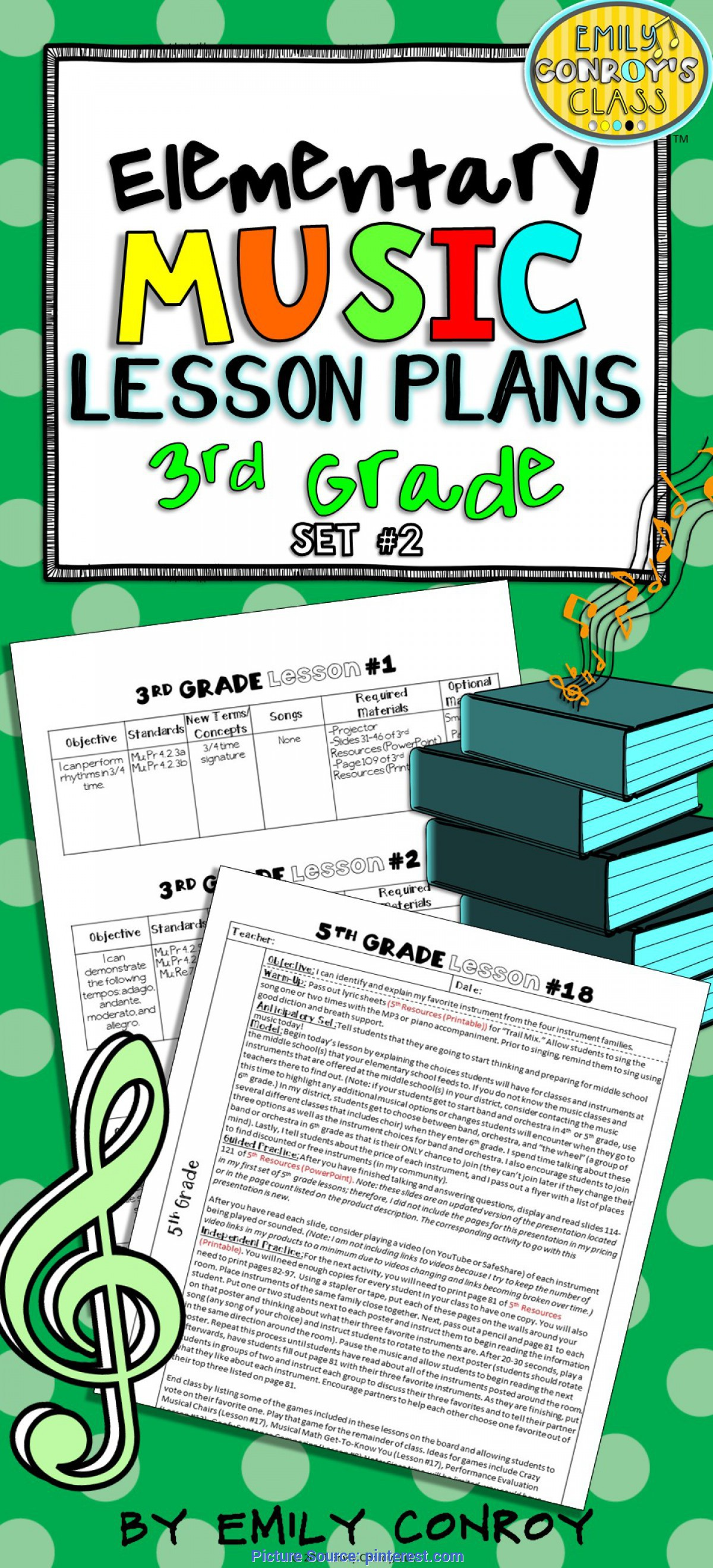 Simple 3Rd Grade Music Lesson Plans 3Rd Grade Music Lessons (Set #2) | Creative, Student An
