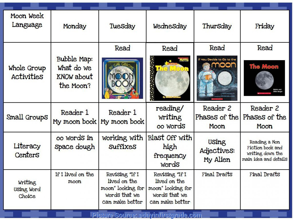 Simple 5E Lesson Plan First Grade A Day In First Grade | Blast Off To The M