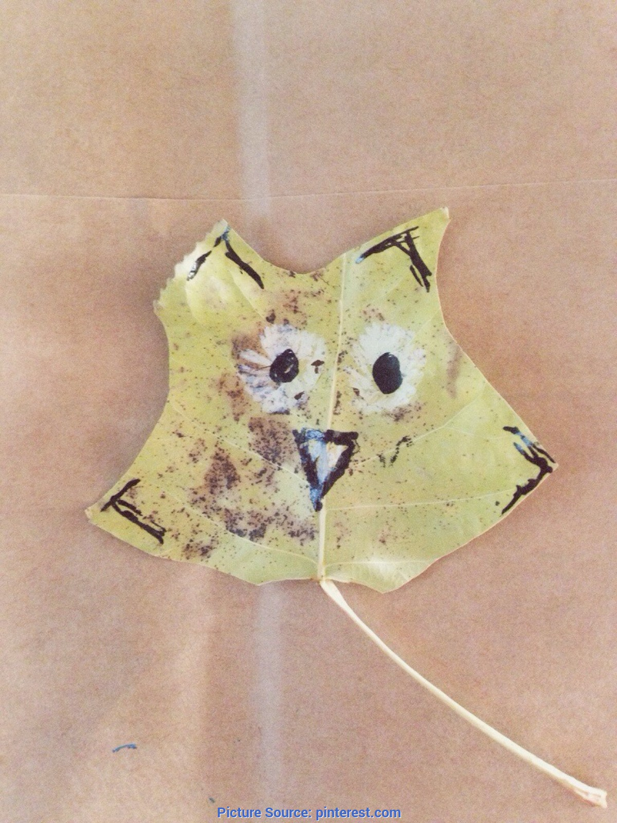 Simple Fall Animal Crafts Leaves And Animals - Crafts For Fall / Autumn | Other | Pinteres