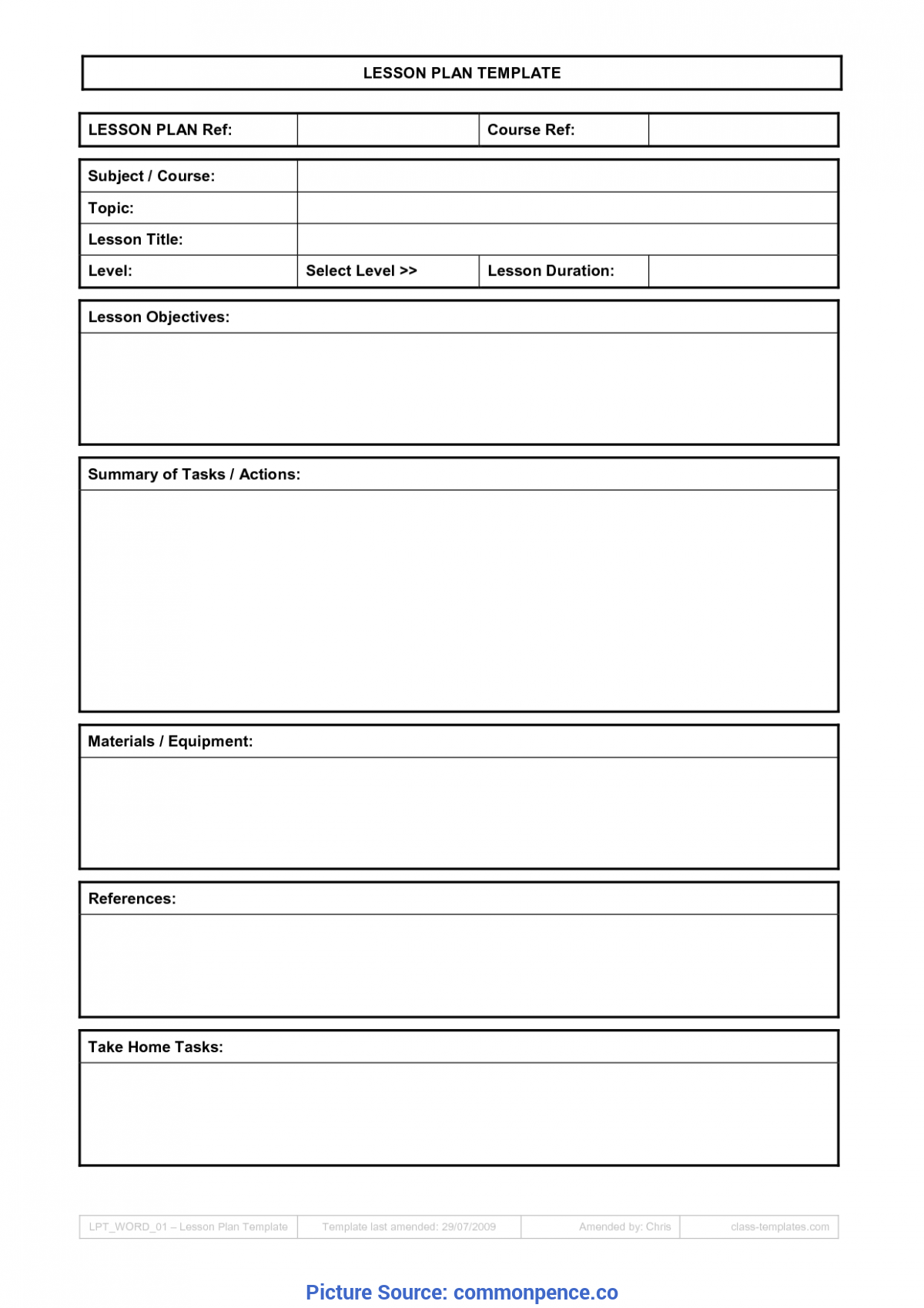 useful lesson plan template microsoft word 2007 cool how