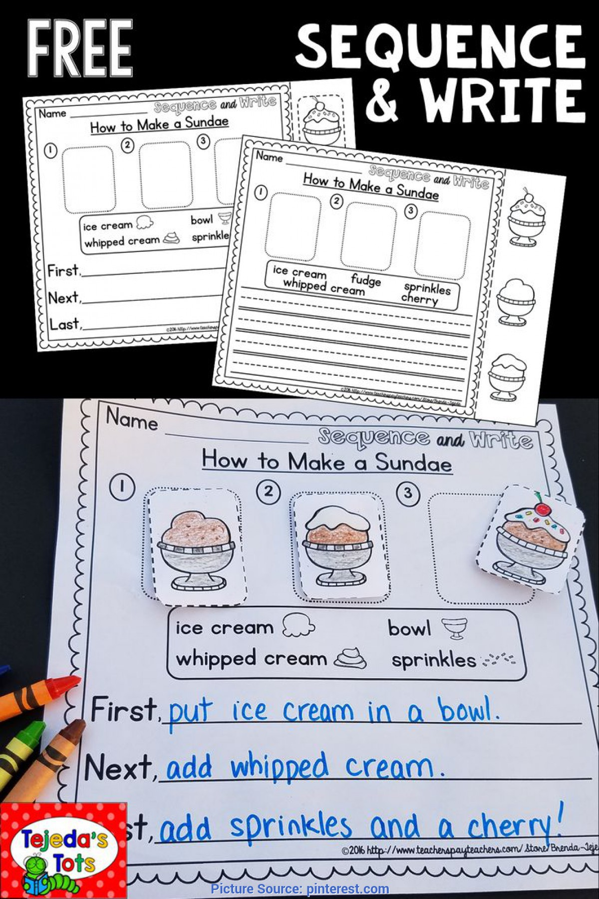 Simple How To Make A Sandwich Lesson Plans Kindergarten Best 25+ Sequencing Activities Ideas On Pinterest | Stor