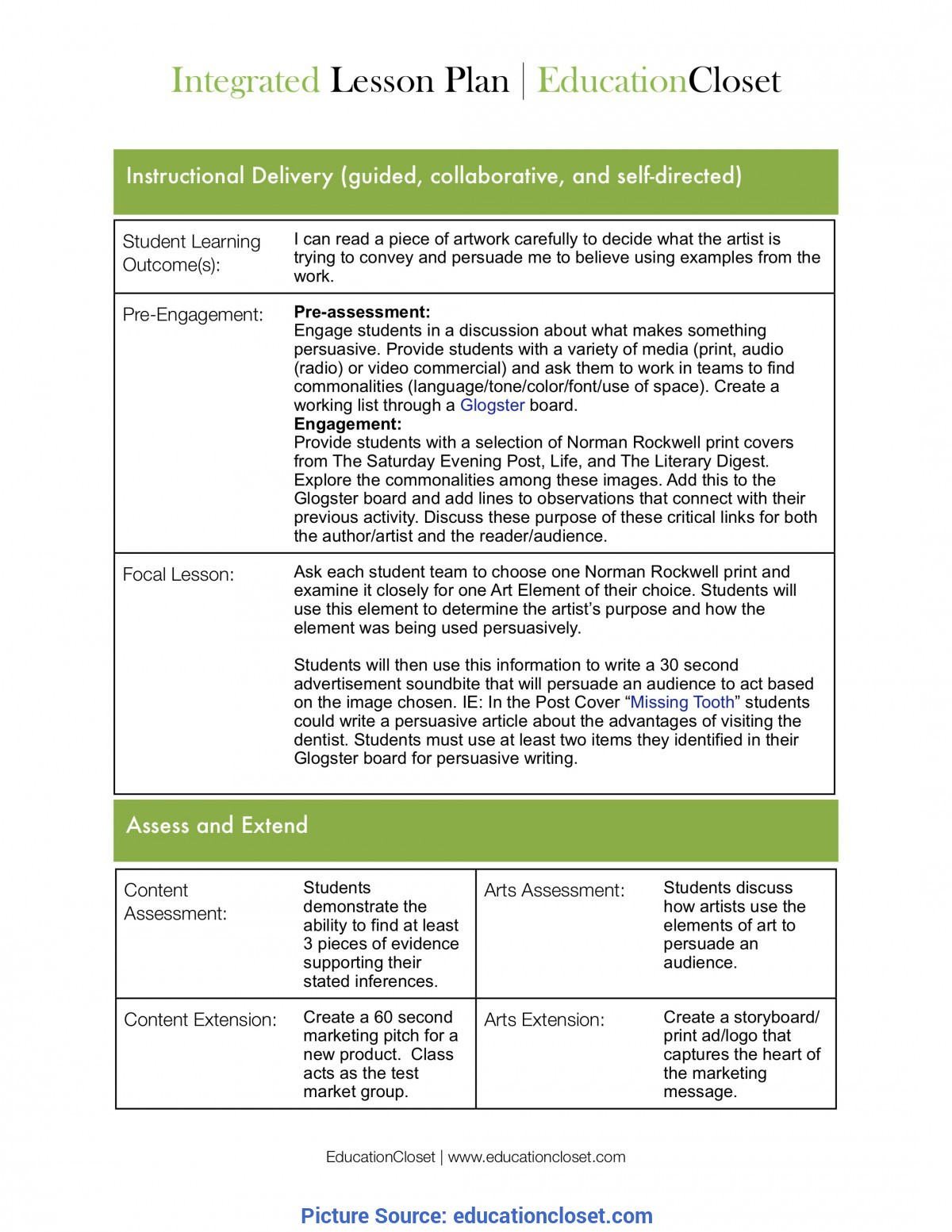 Simple Integrated Curriculum Lesson Plans Moving From Lesson Seeds To Lesson Plans | Educationcl