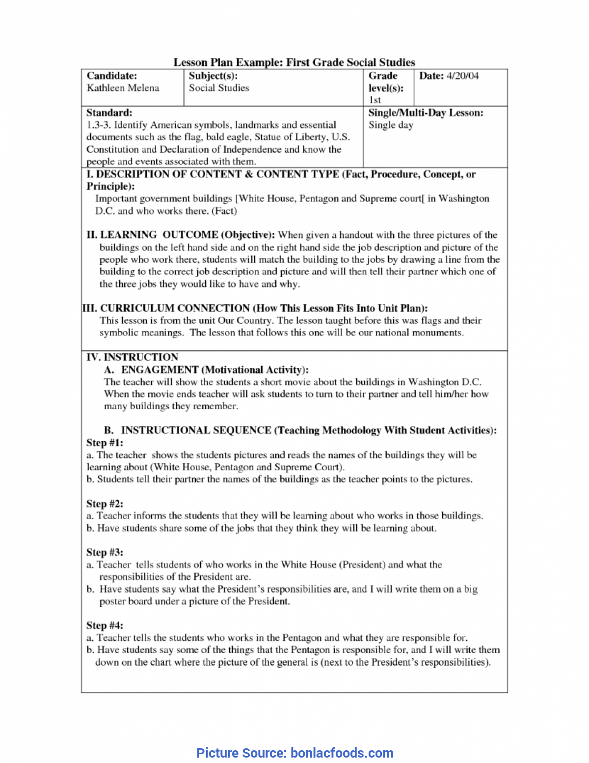 - Simple Lesson Plan 7Th Grade Social Studies Worksheets For All
