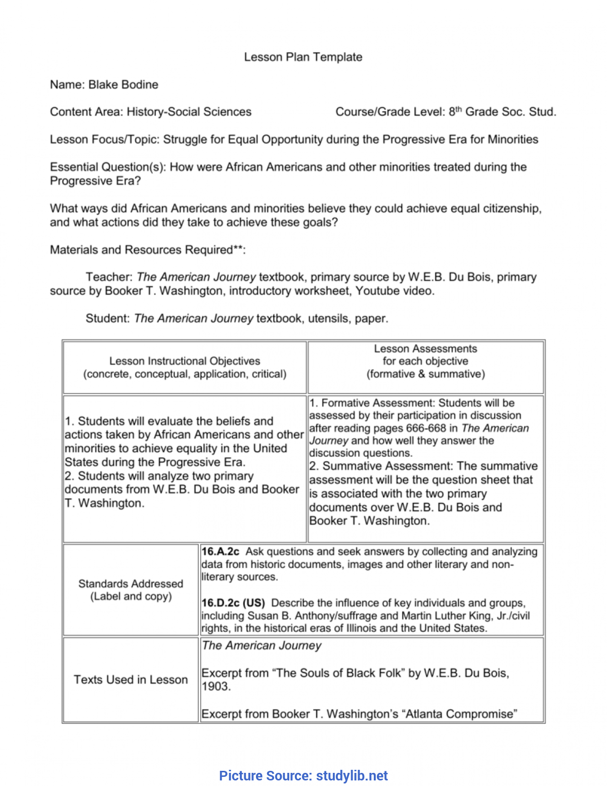 Simple Lesson Plan Template For 8Th Grade Social Studies 008038882_1-F3C63Fe12D01C57Ac4Af1069Cd040Bef